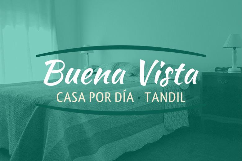 Casa Buena Vista es un emprendimiento turístico en Tandil que ofrece alojamiento por día con todos los servicios incluidos.