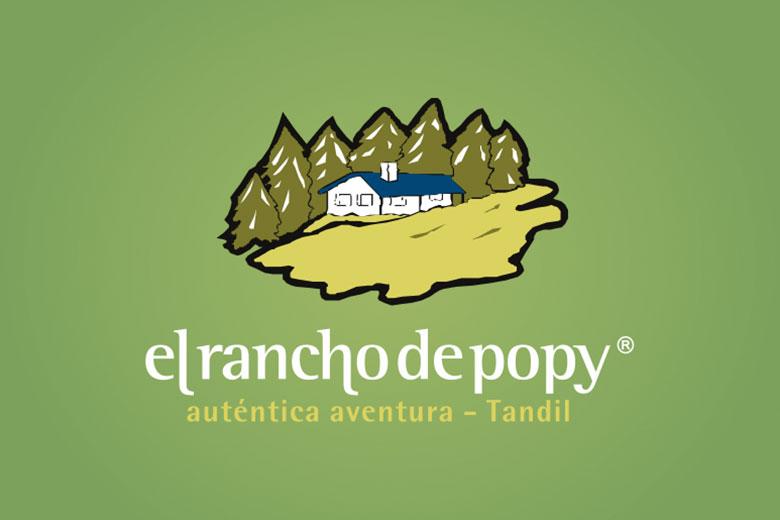 El Rancho de Popy es un predio turístico con sierras, bosques y lagunas, donde se puede disfrutar del placer y la tranquilidad que transmite el contacto con la naturaleza.